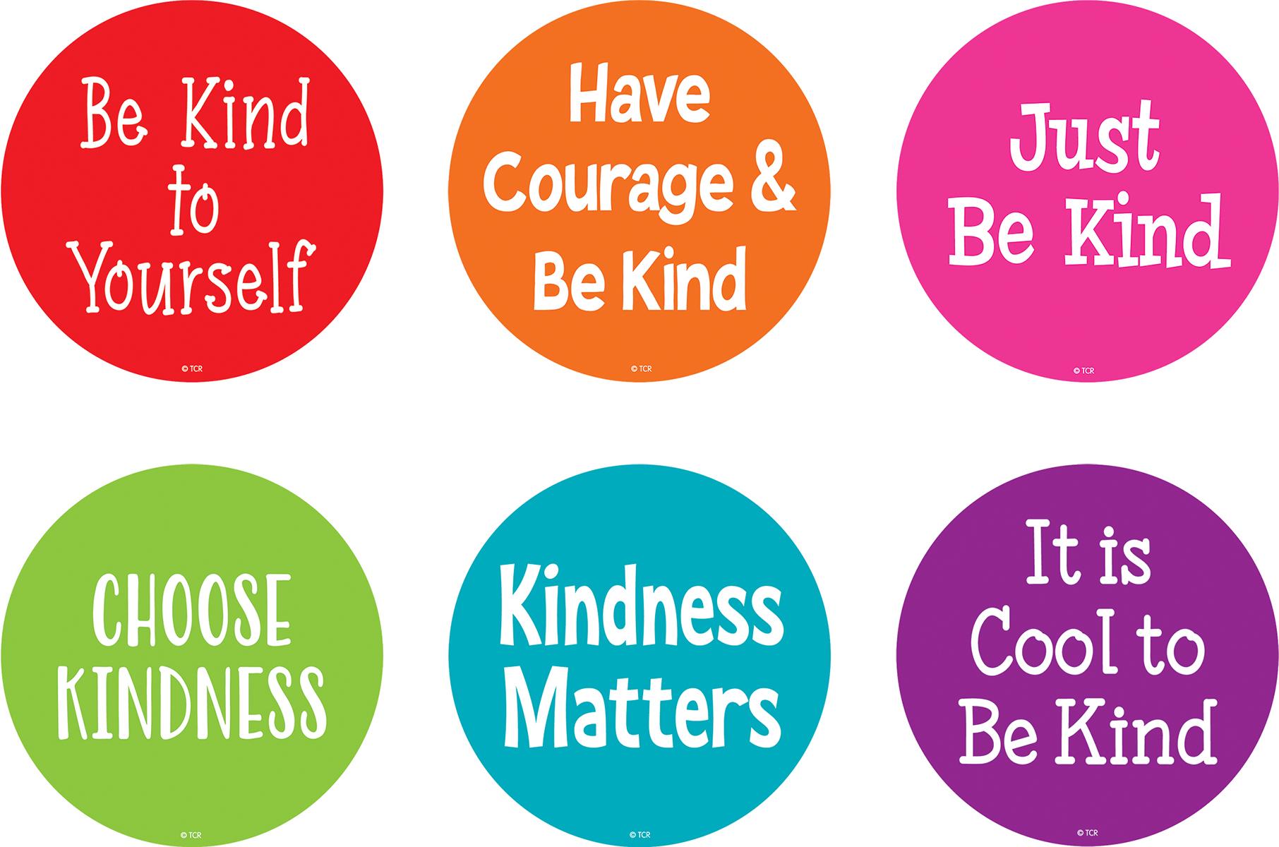 Spot On Floor Markers: Kindness