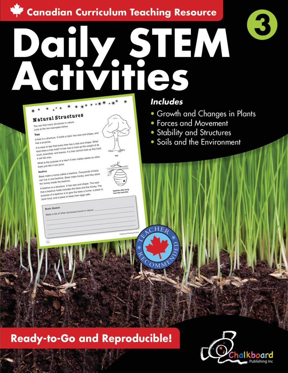 Canadian Daily STEM Activities Grade 3