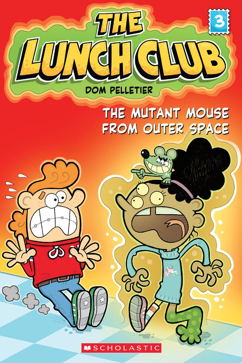 The Lunch Club #3: Mutant Mouse From Outer Space