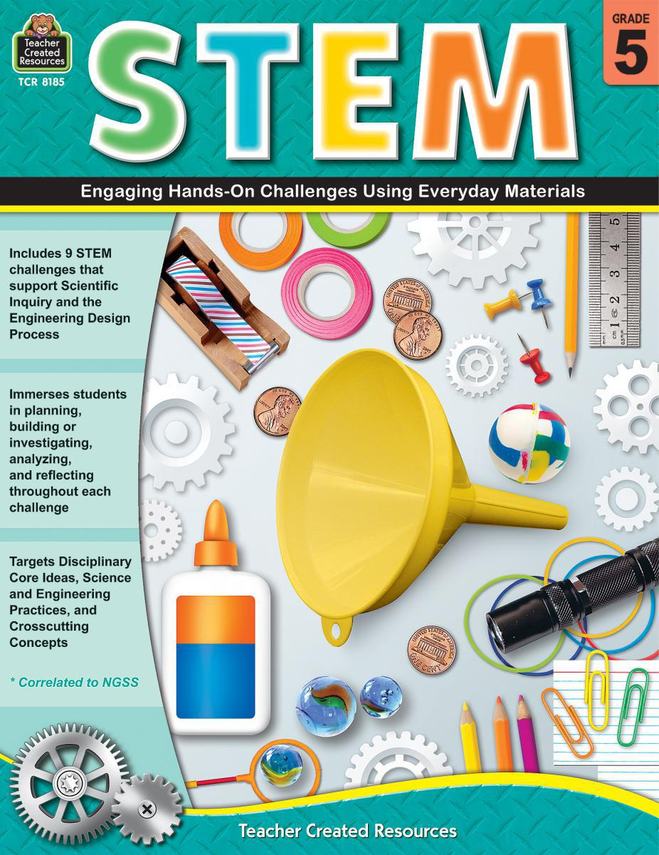 STEM Gr. 5: Engaging Hands-On Challenges Using Everyday Materials