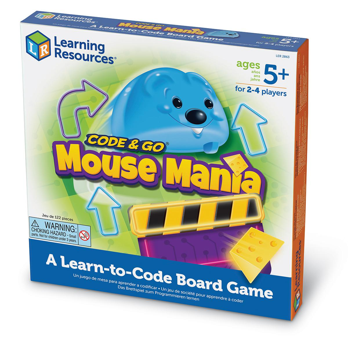 Code & Go® Mouse Mania: A Learn-to-Code Board Game