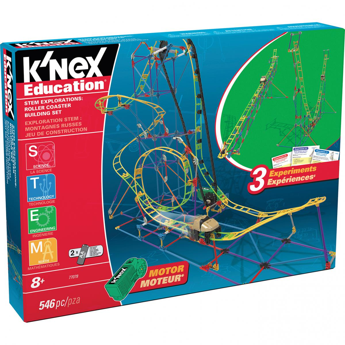 K'Nex® STEM Explorations Roller Coaster Building Set
