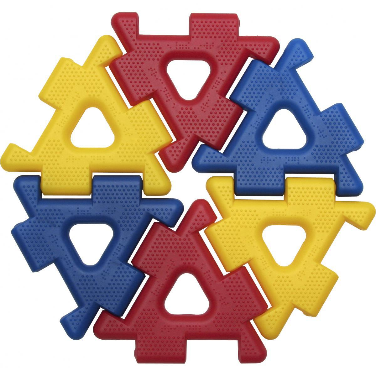 Ensemble polydron géant
