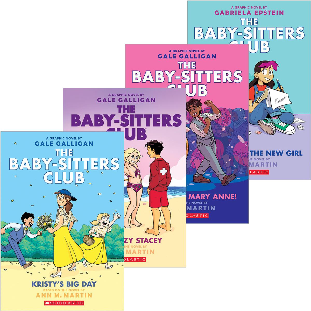 The Baby-Sitters Club® Graphix #6-#10 Pack