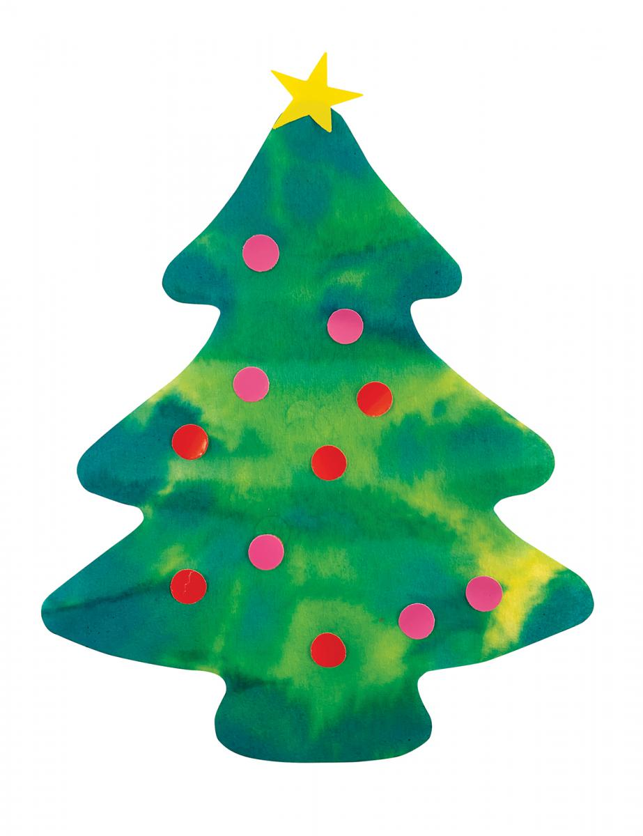 Color Diffusing Evergreen Trees Classpack