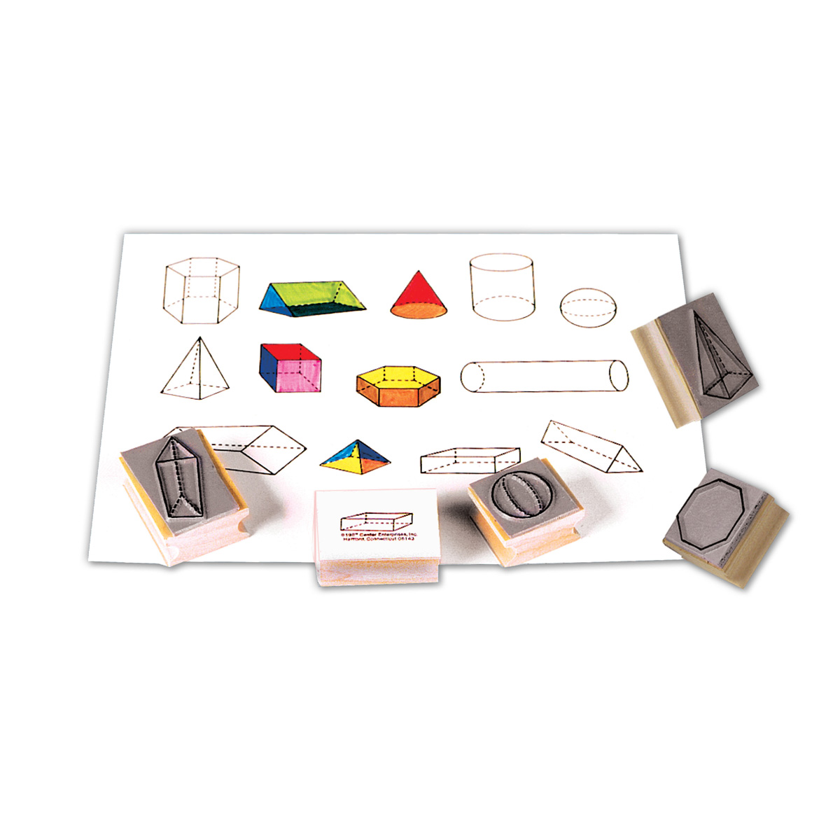 Three Dimensional Geometric Stamps