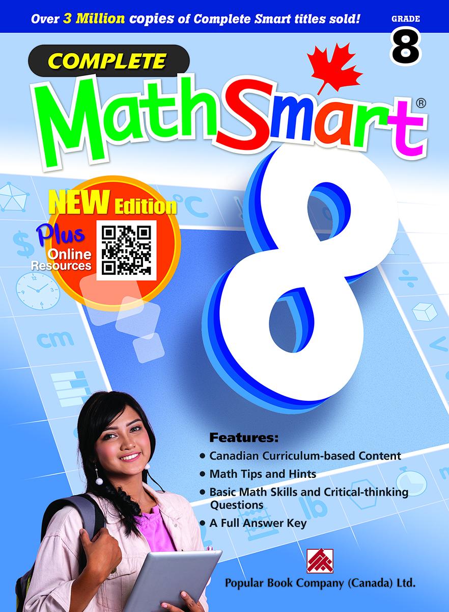 Complete MathSmart Grade 8