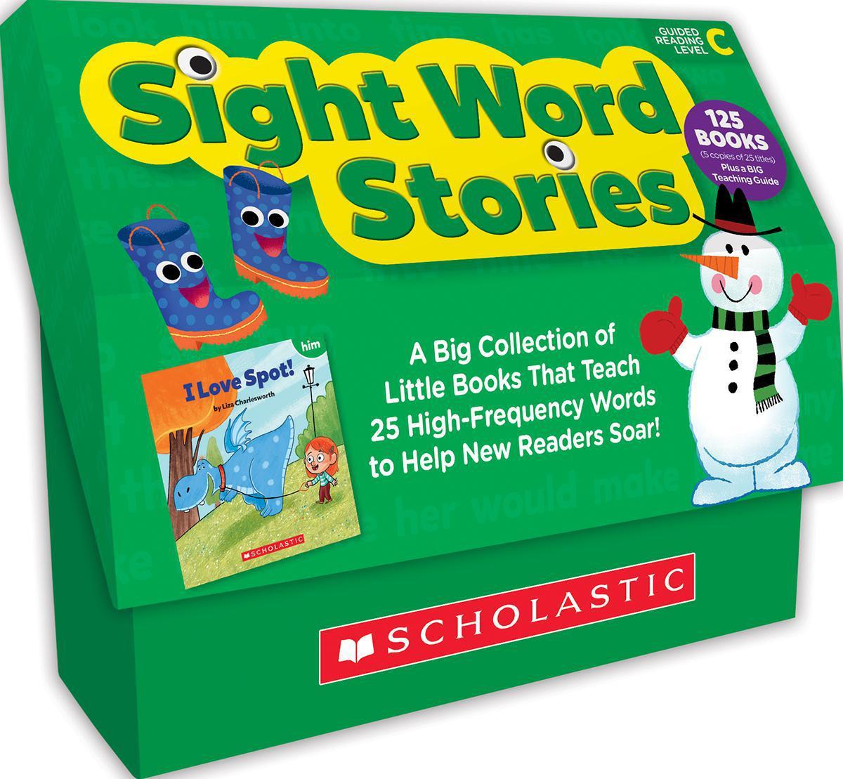 Sight Word Stories Classroom Set: Level C