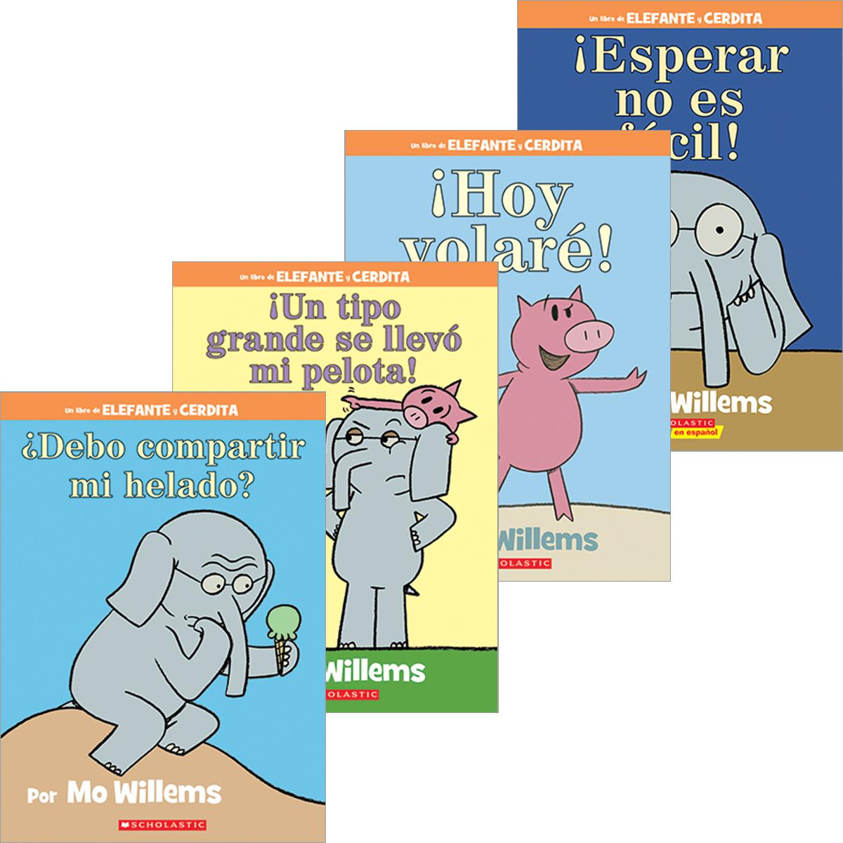 Elephant and Piggie Spanish Value Pack