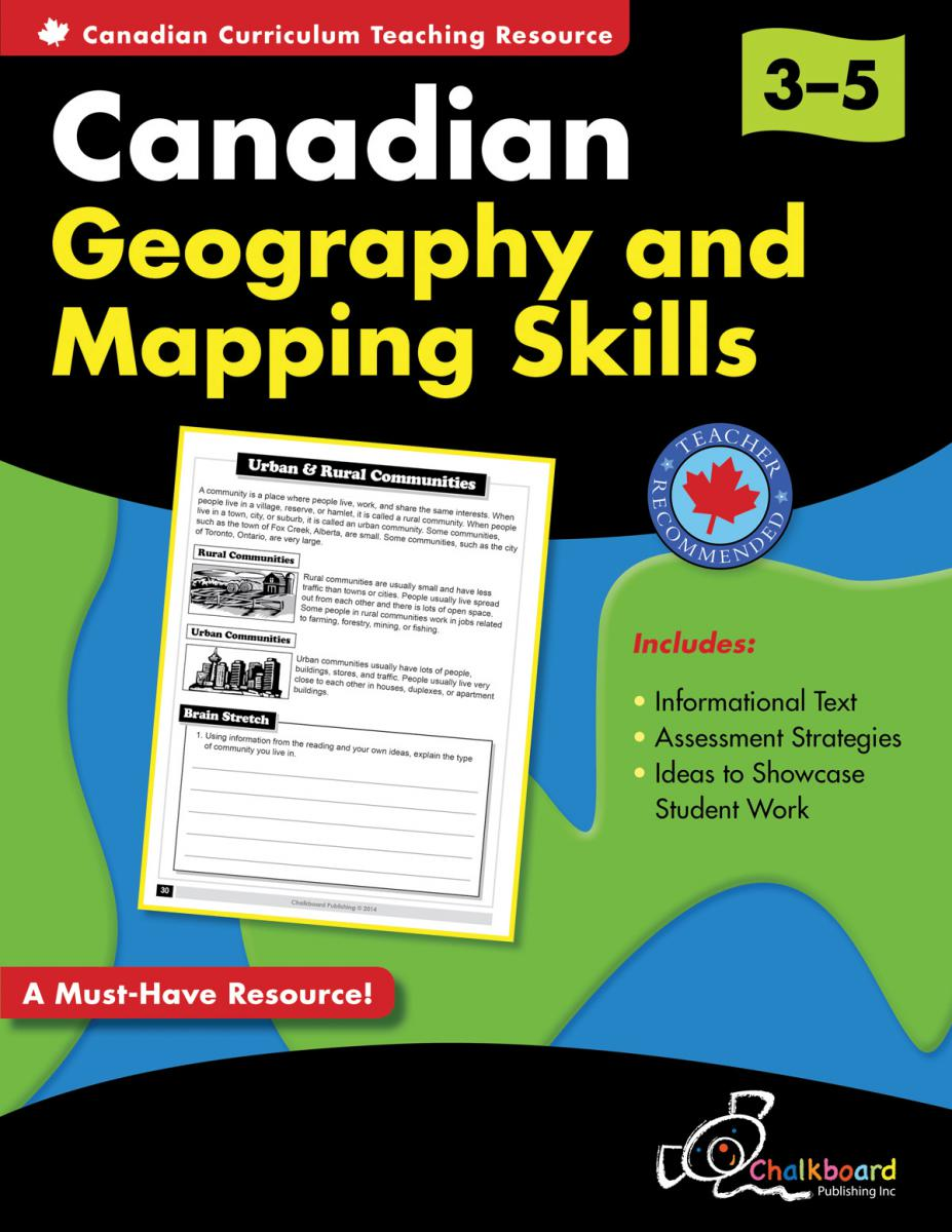Canadian Geography & Mapping Skills