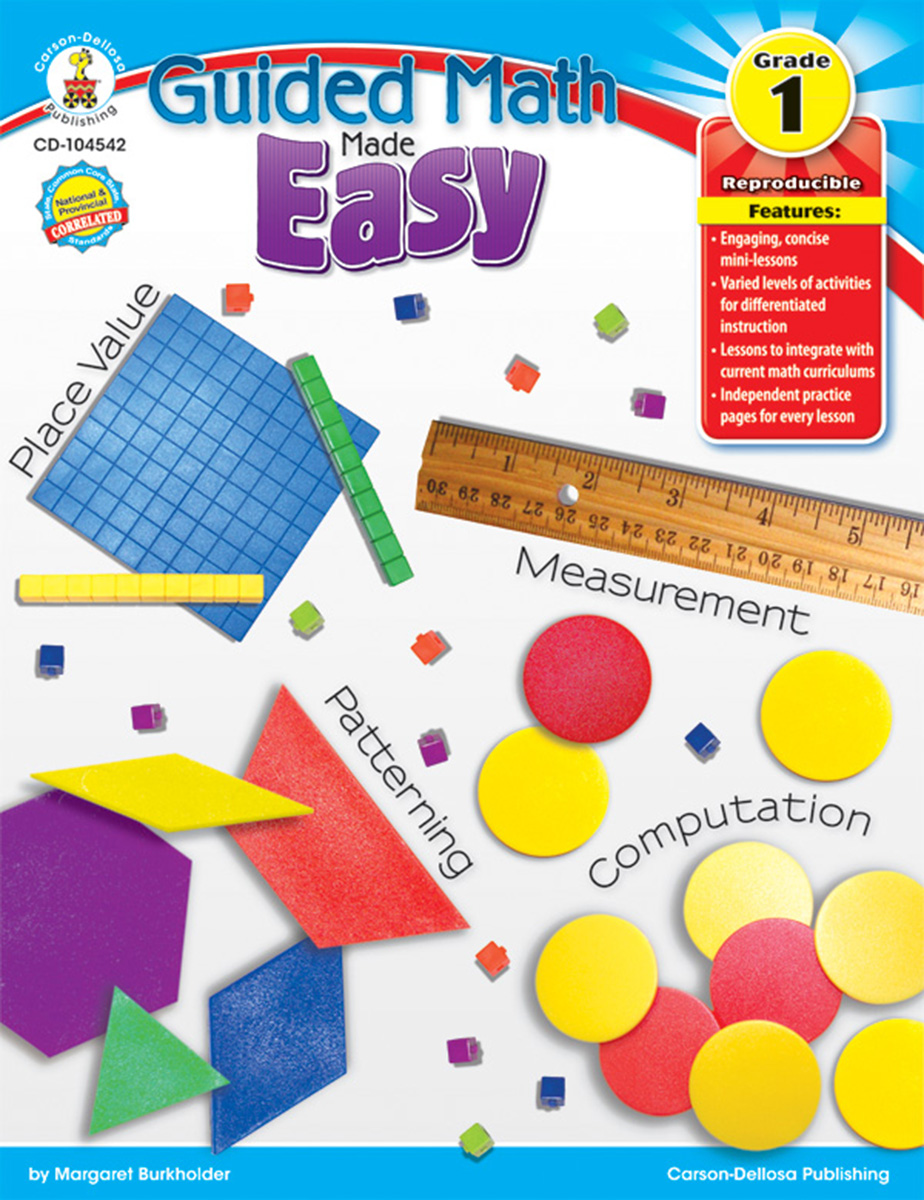 Guided Math Made Easy Grade 1