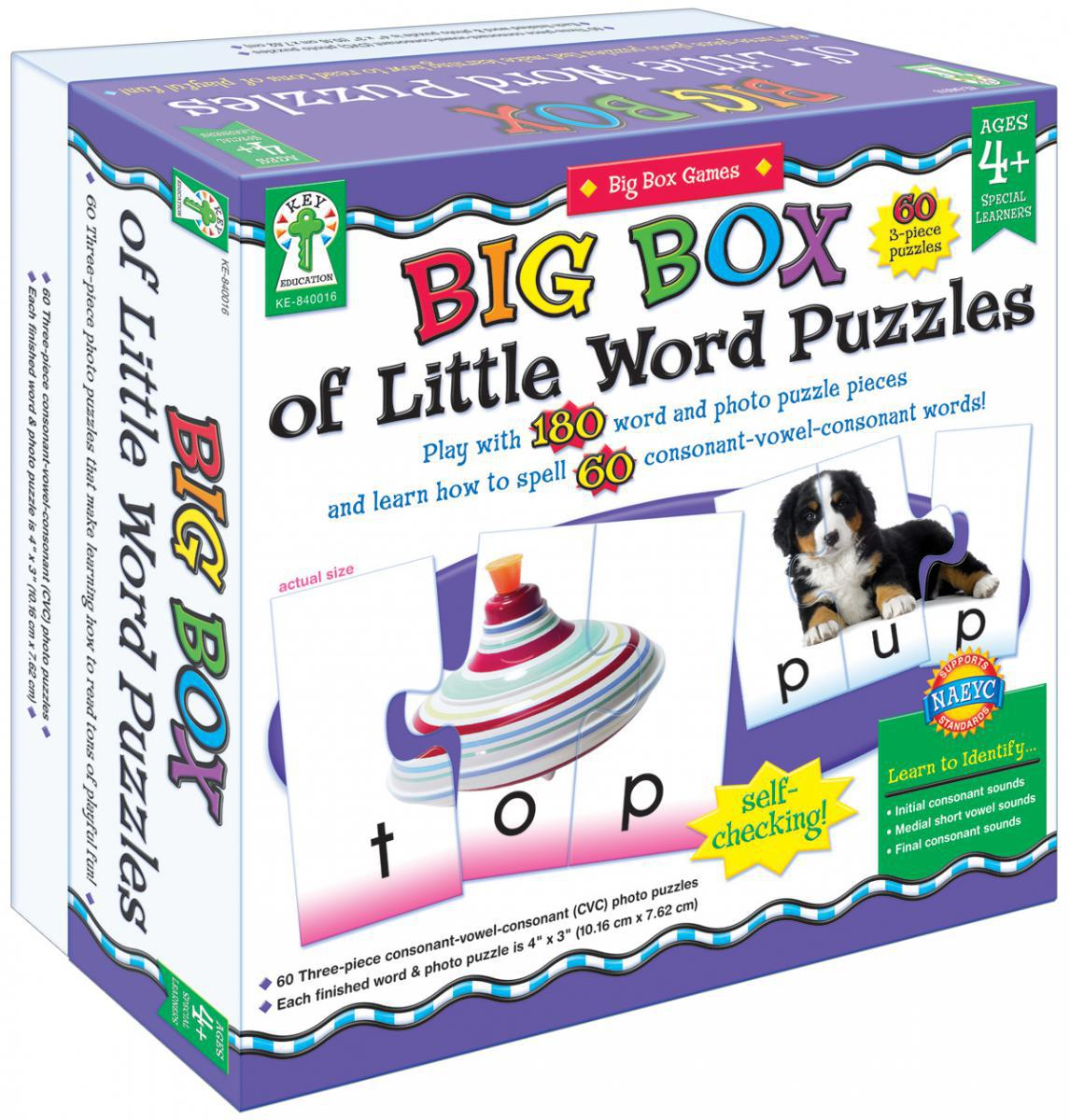 Big Box of Little Word Puzzles