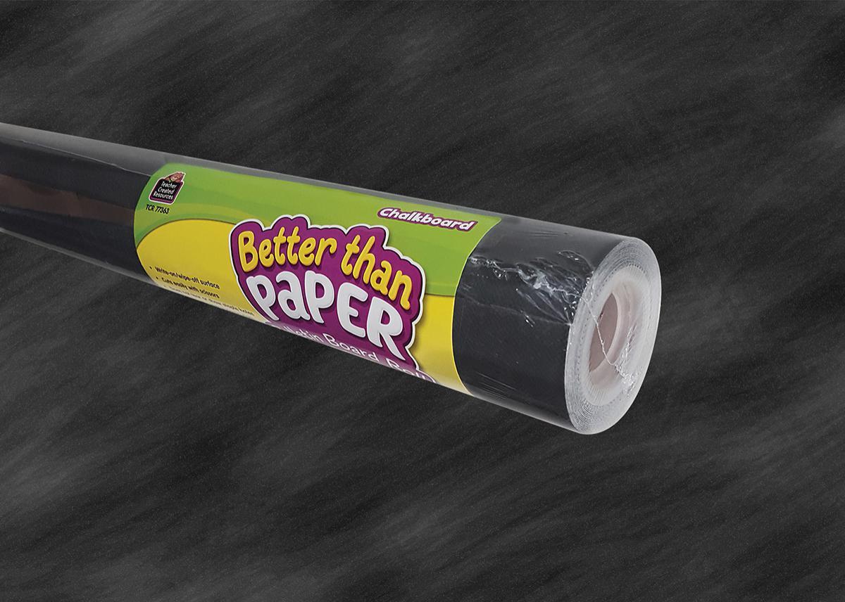 Chalkboard Better Than Paper Roll