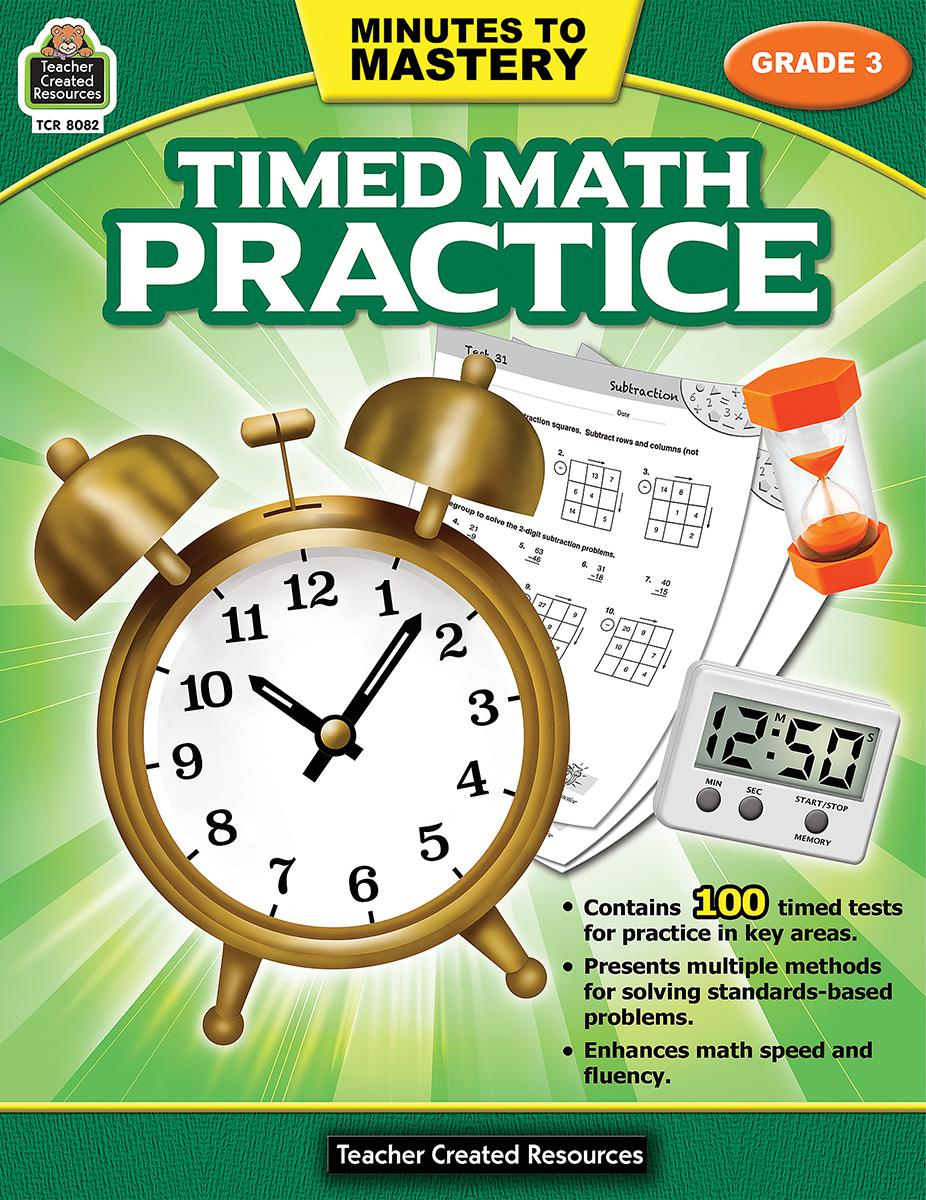 Minutes to Mastery: Timed Math Practice: Gr 3