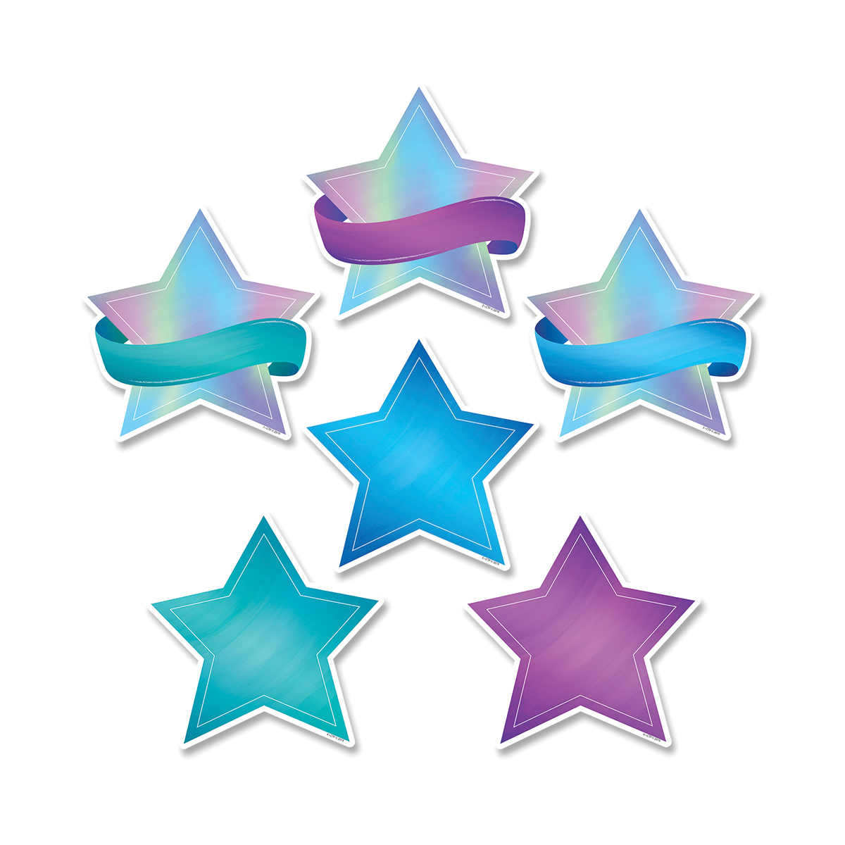 Shimmering Stars Cut-Outs