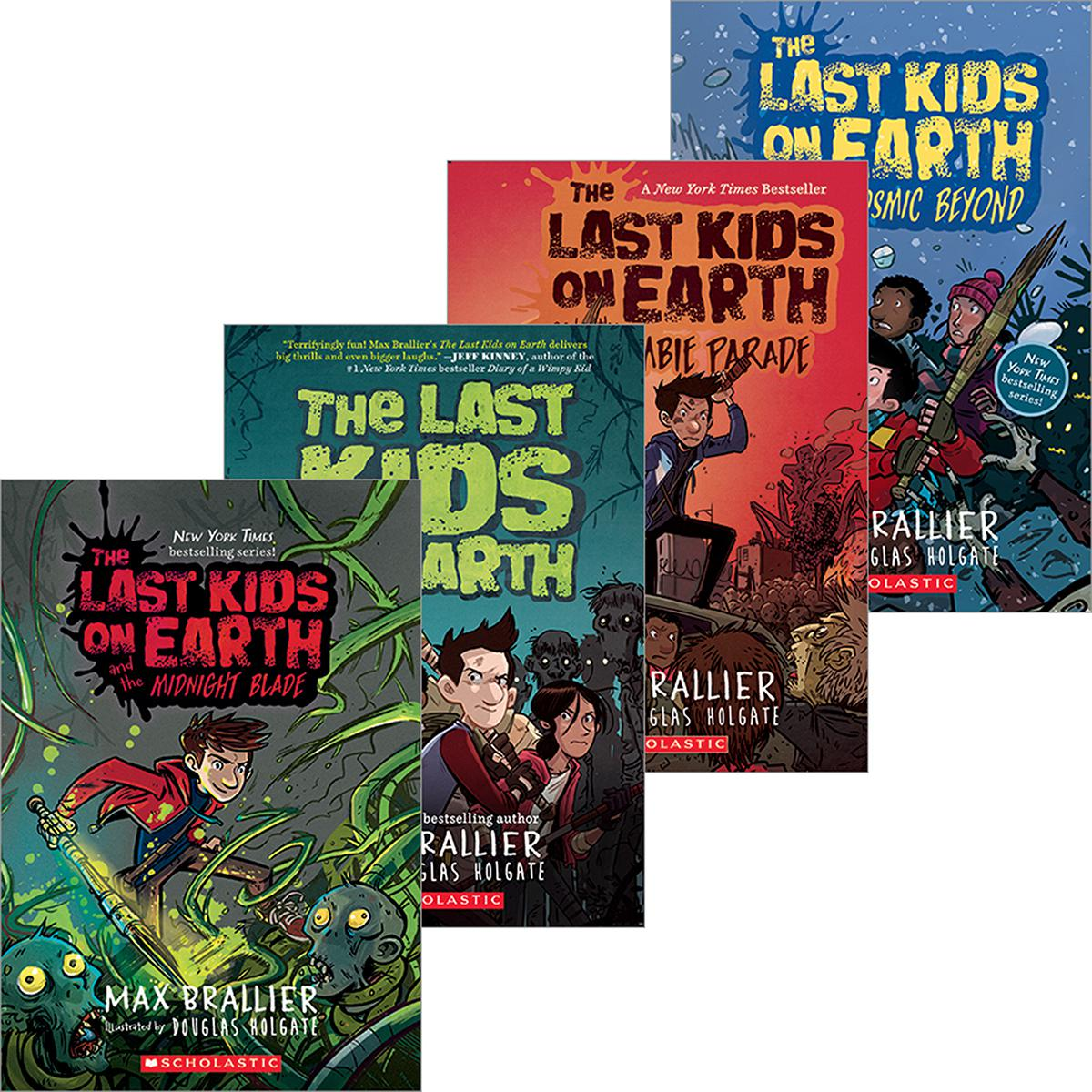 The Last Kids on Earth #1 - #5 Pack