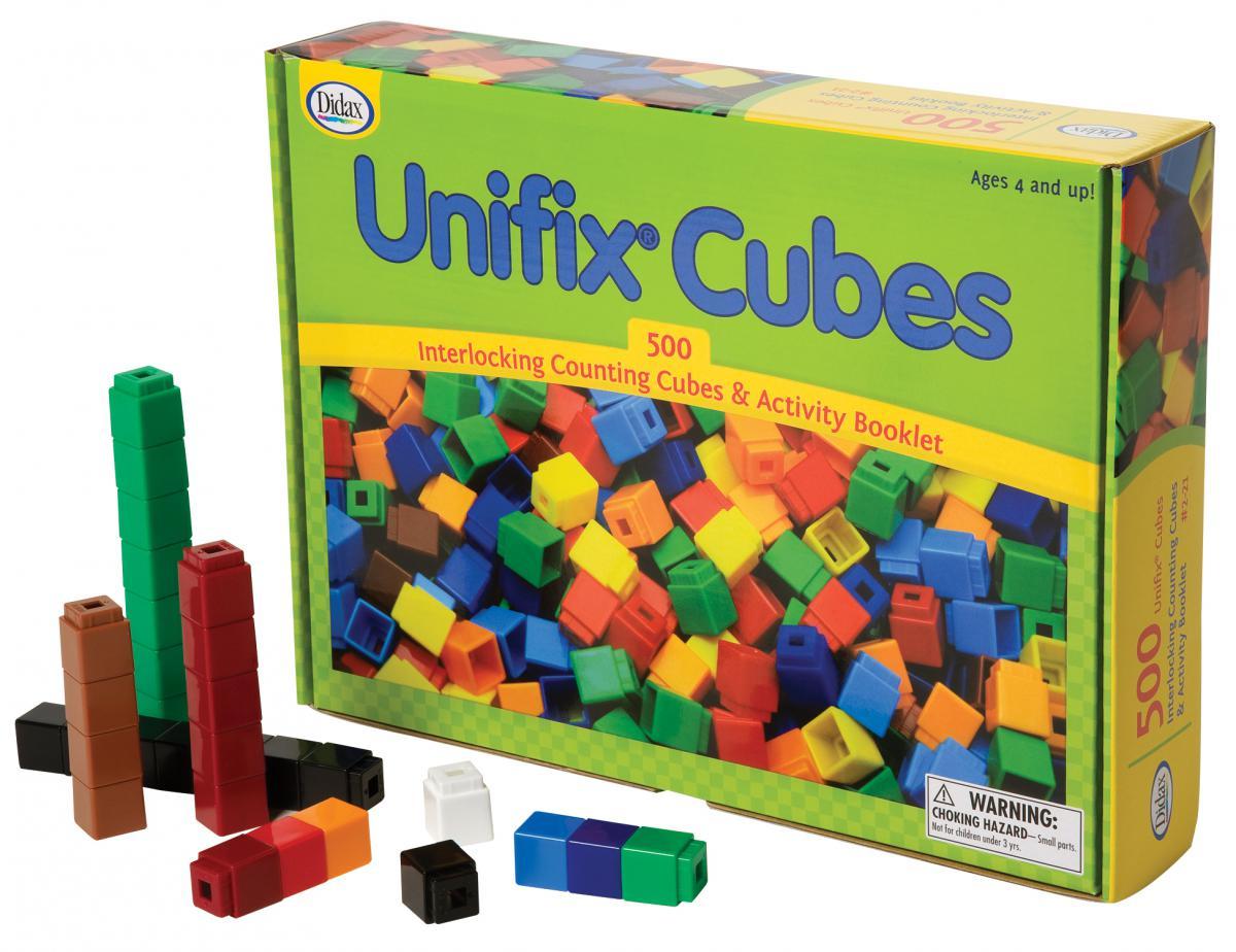 Cubes Unifix (500)