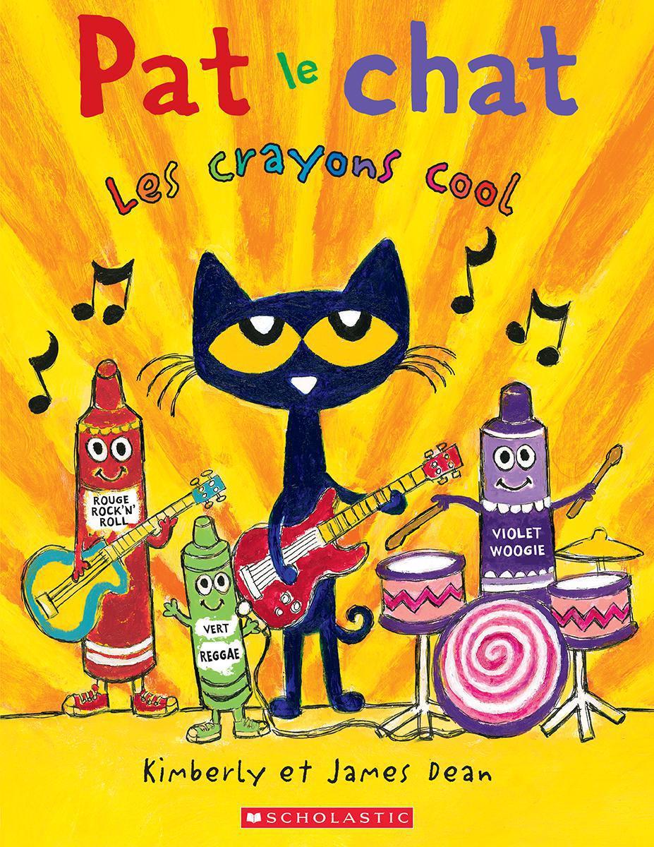 Pat le chat : Les crayons cool