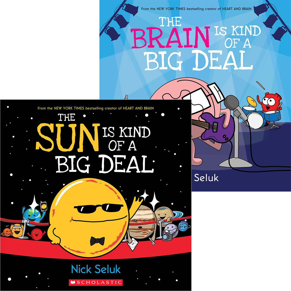 The Sun and Brain Are Kind of Big Deals Pack