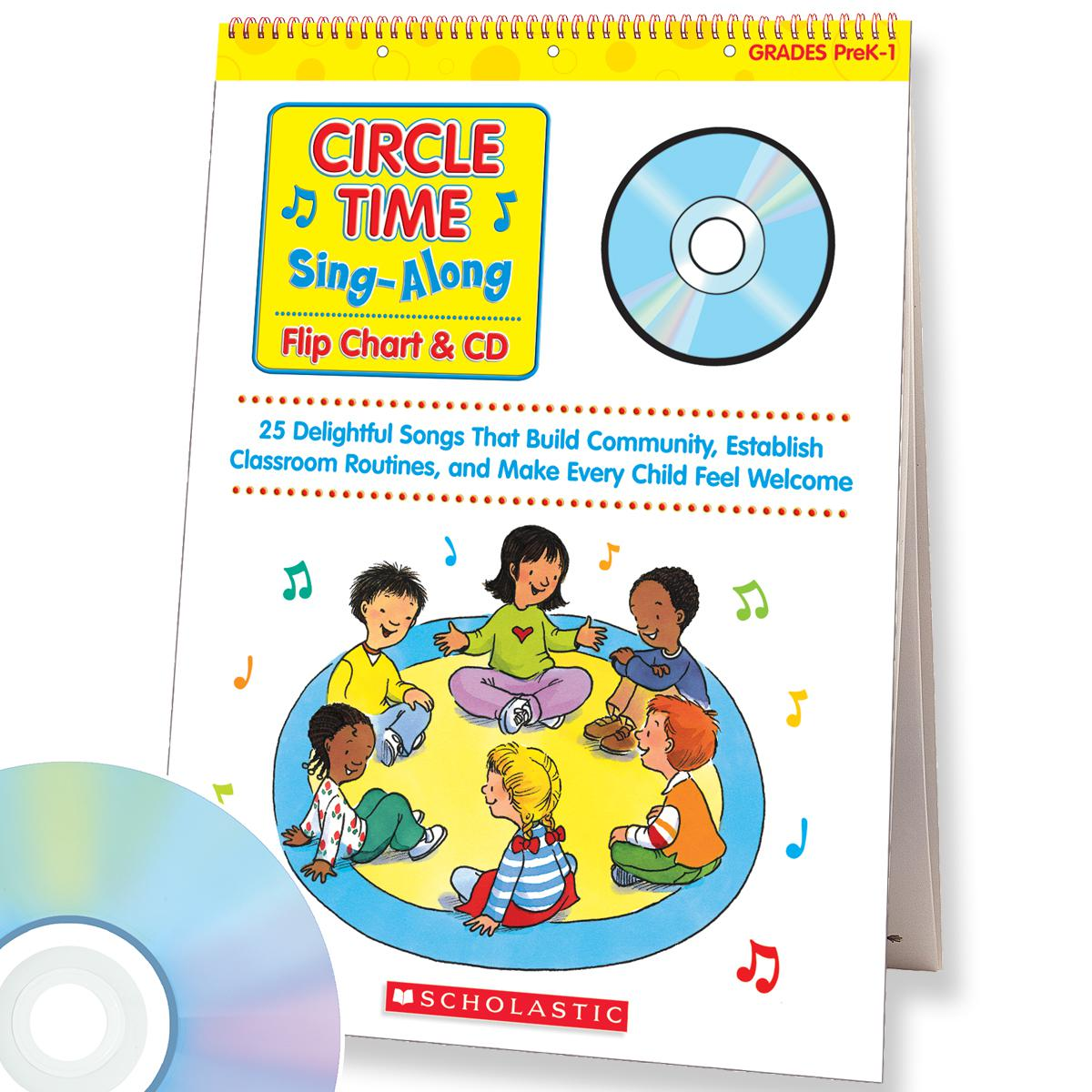 Circle Time Sing-Along Flip Chart & CD