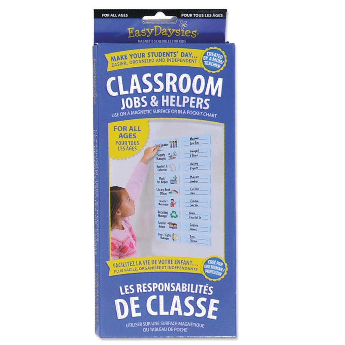 Magnetic Classroom Jobs & Helpers