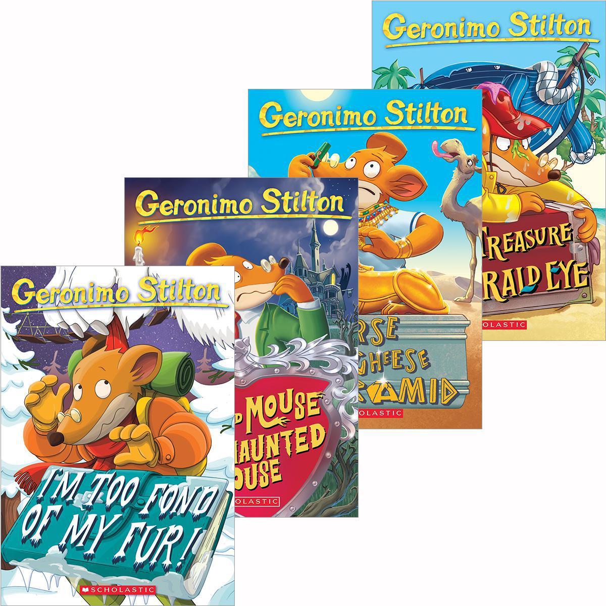 Geronimo Stilton Four-Cheese Box Set