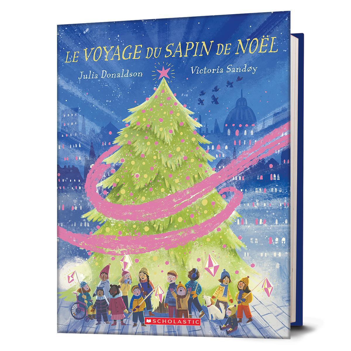 Le voyage du sapin de Noël