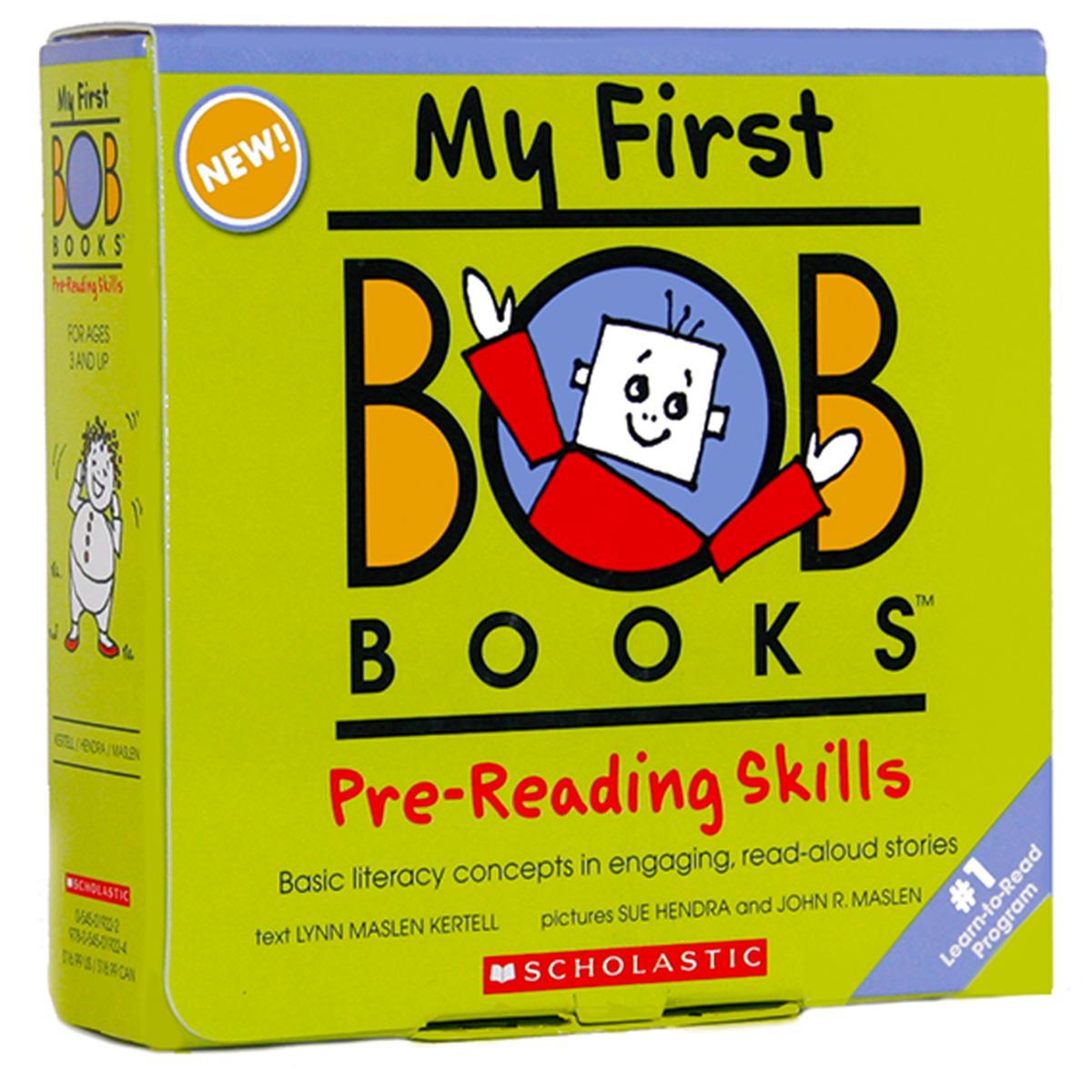 My First BOB Books®: Pre-Reading Skills Boxed Set