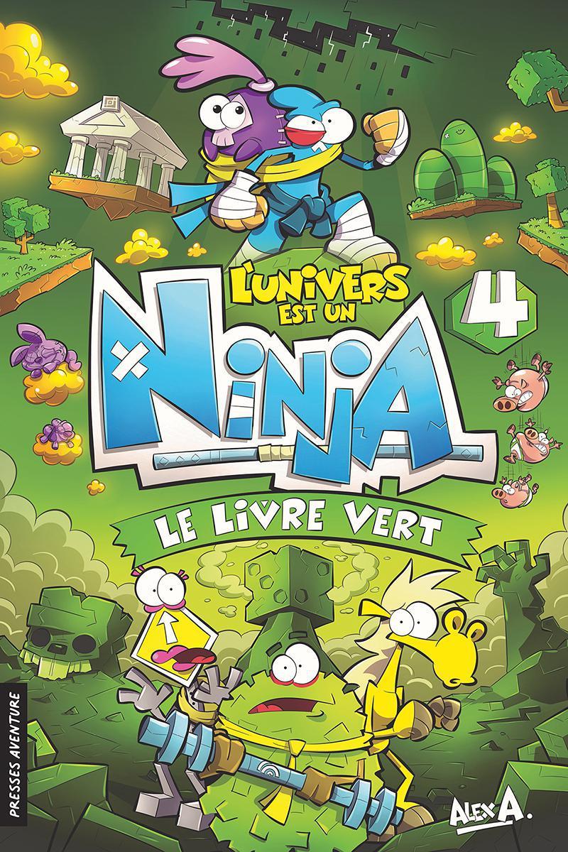 L'univers et un Ninja - Le livre vert