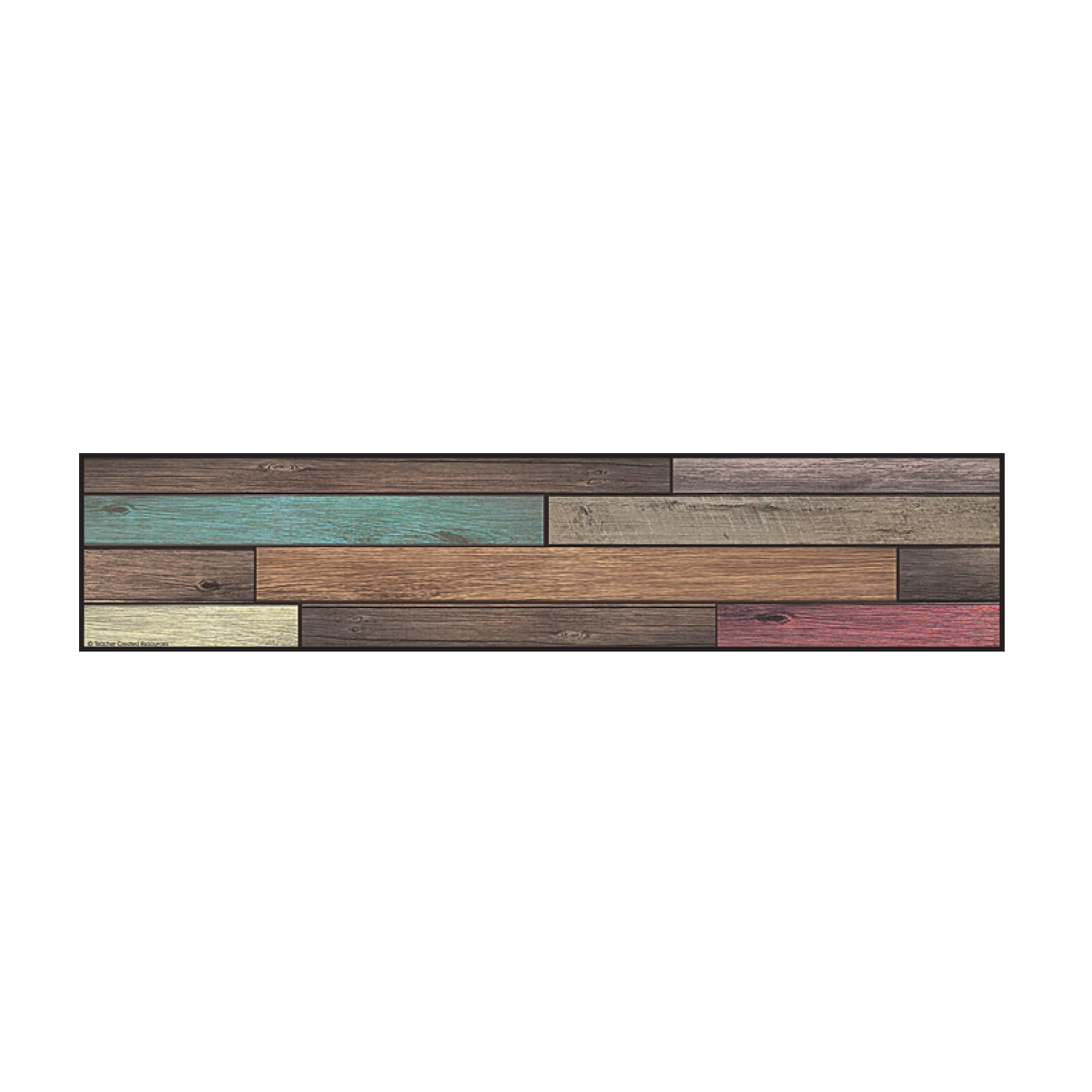 Reclaimed Wood Straight Border Trimmer