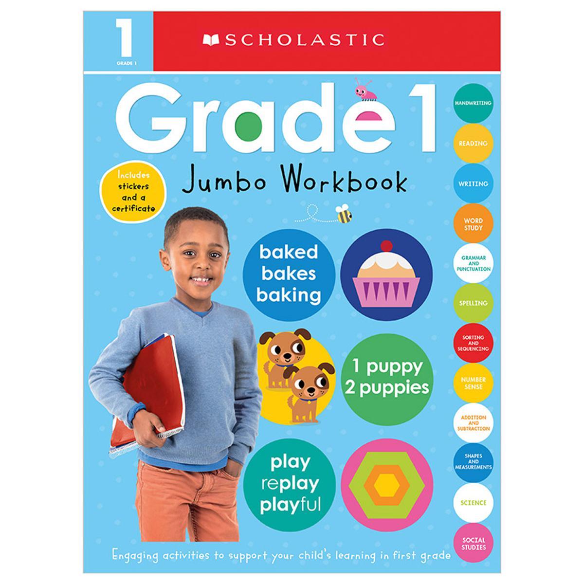 Scholastic Early Learners: Grade 1 Jumbo Workbook