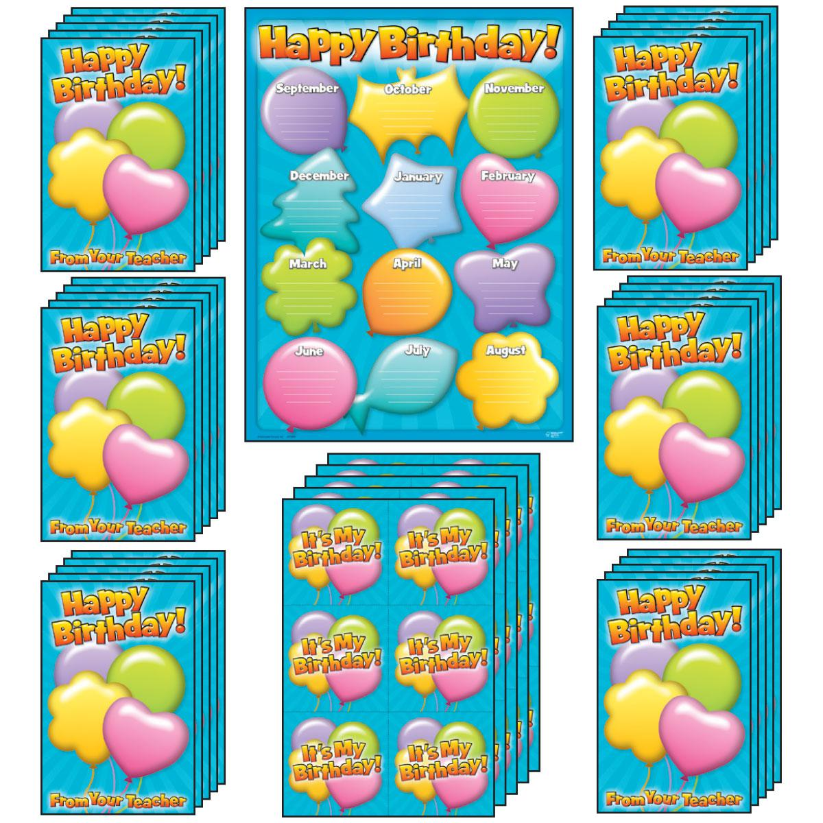 Happy Birthday Pack Balloons