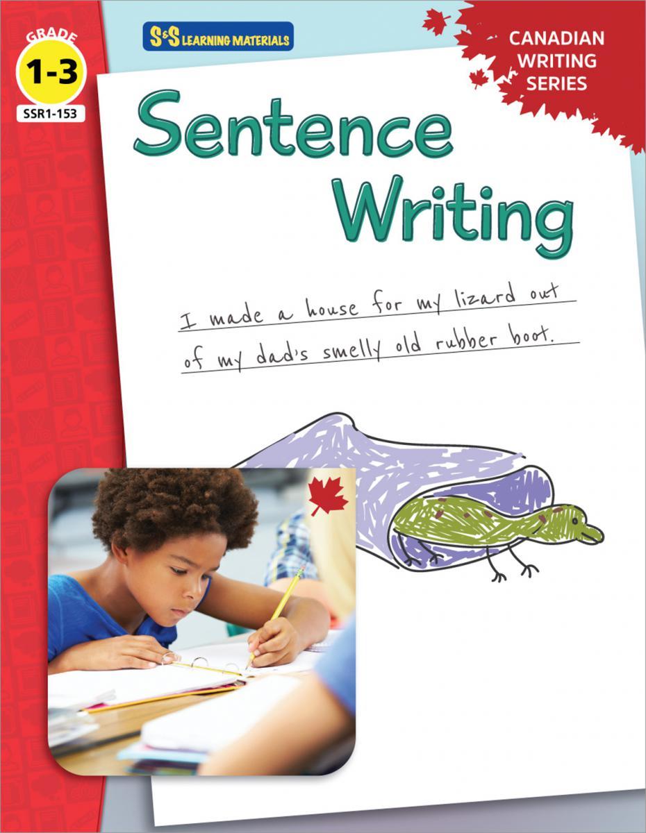 Sentence Writing Canadian Writing Series Gr. 1-3