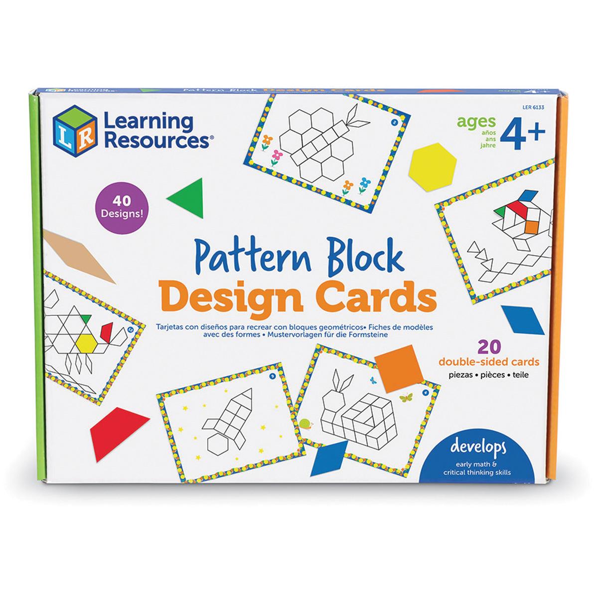 Pattern Block Design Cards