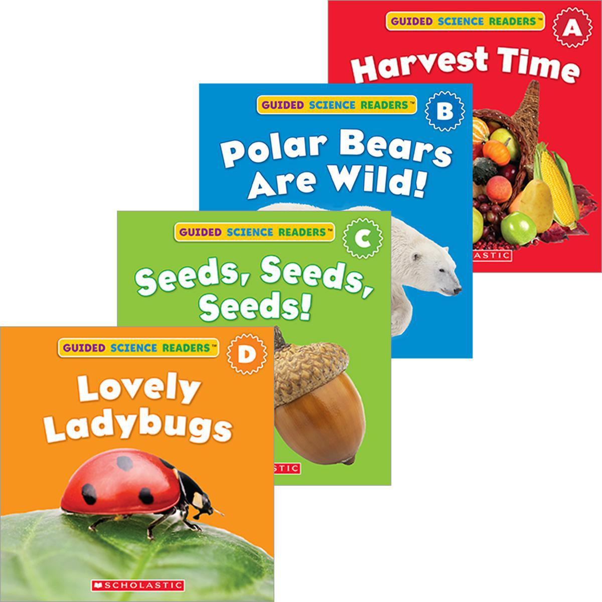 Guided Science Readers: Seasons Pack (A-D)