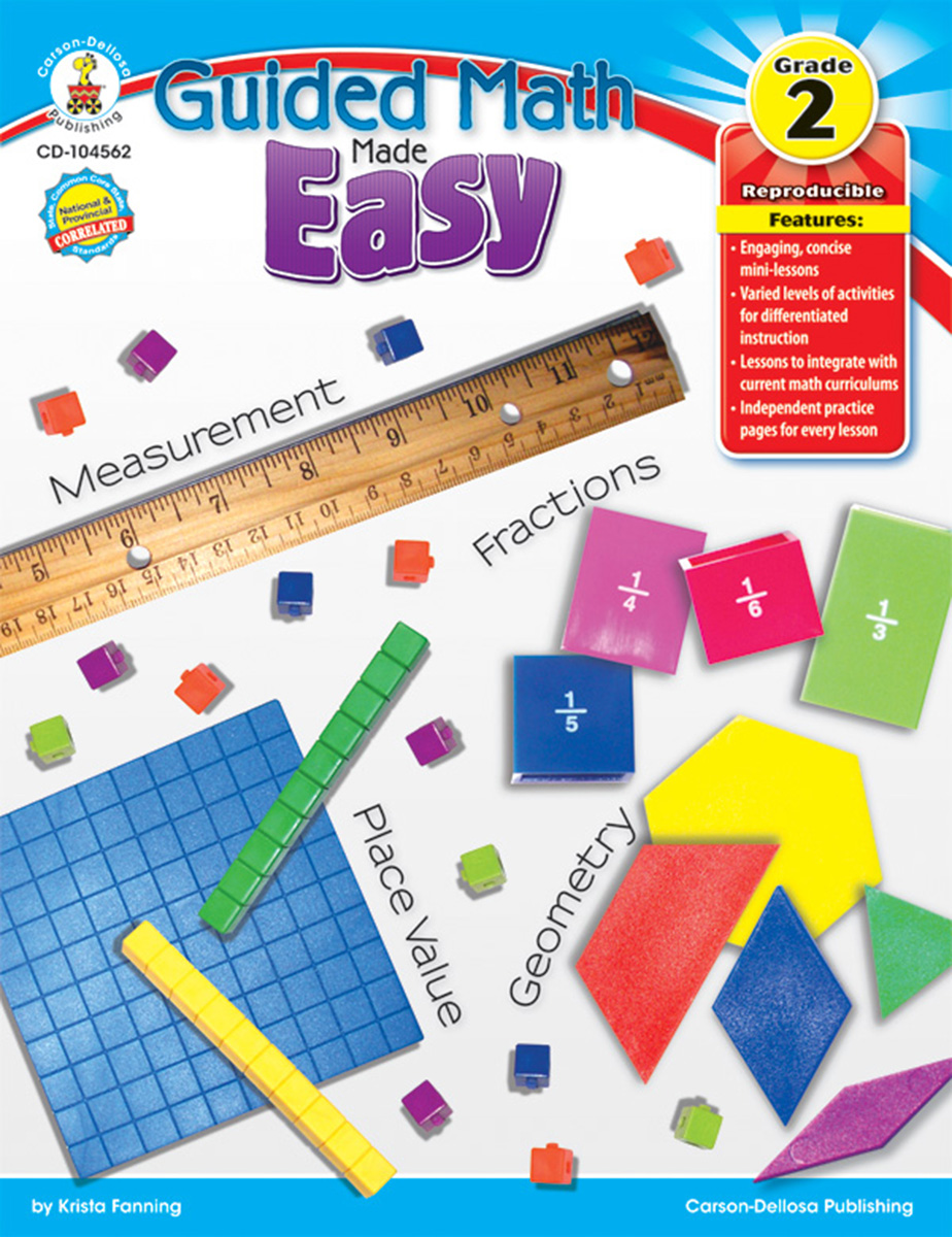 Guided Math Made Easy Grade 2