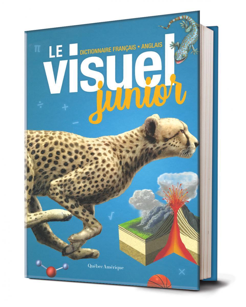 Le dictionnaire français-anglais :  Le visuel junior