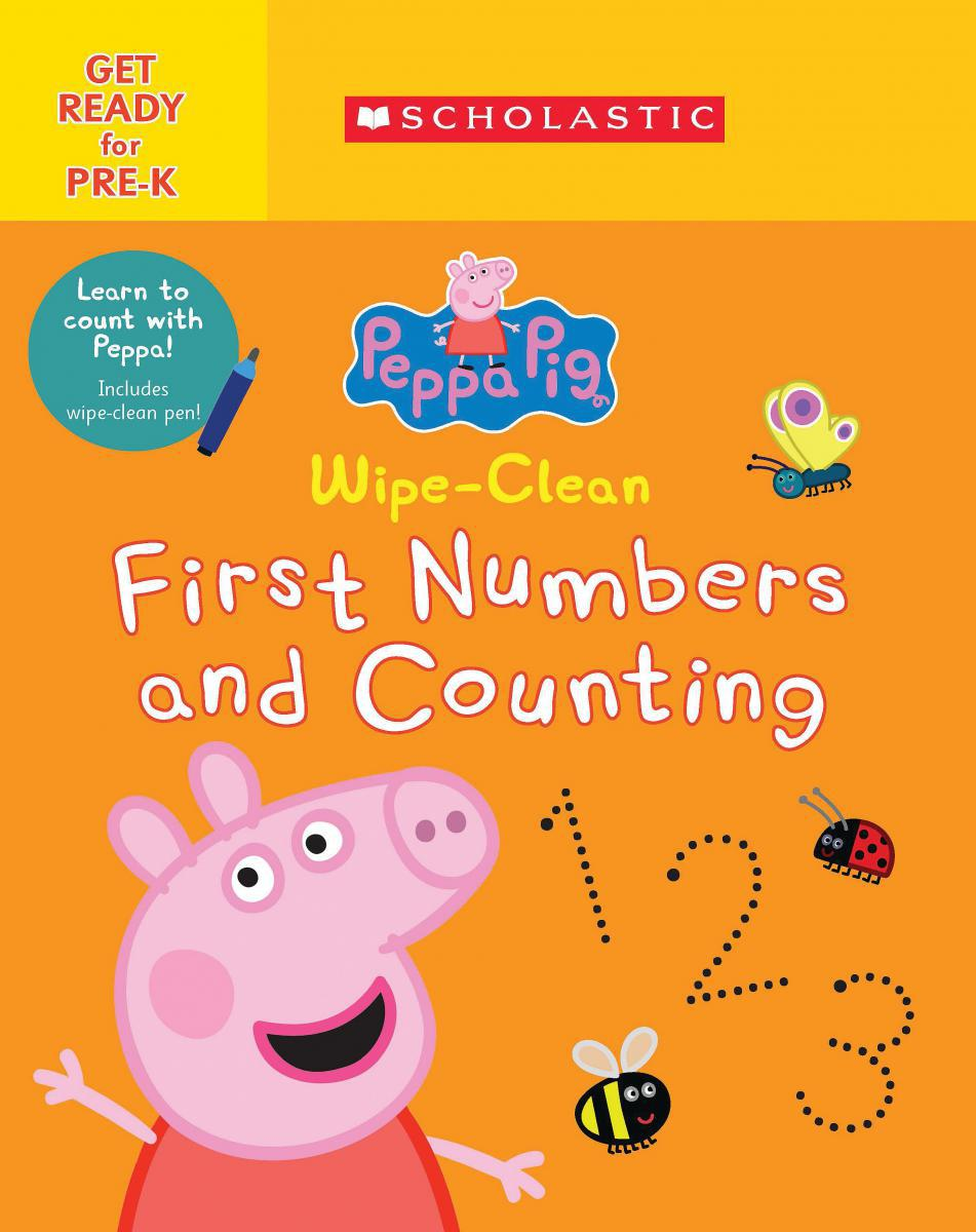 Peppa Pig: Wipe-Clean: First Numbers and Counting