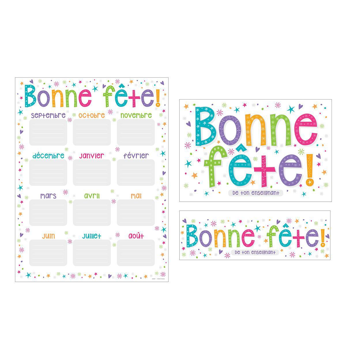 French Happy Birthday Reward Pack