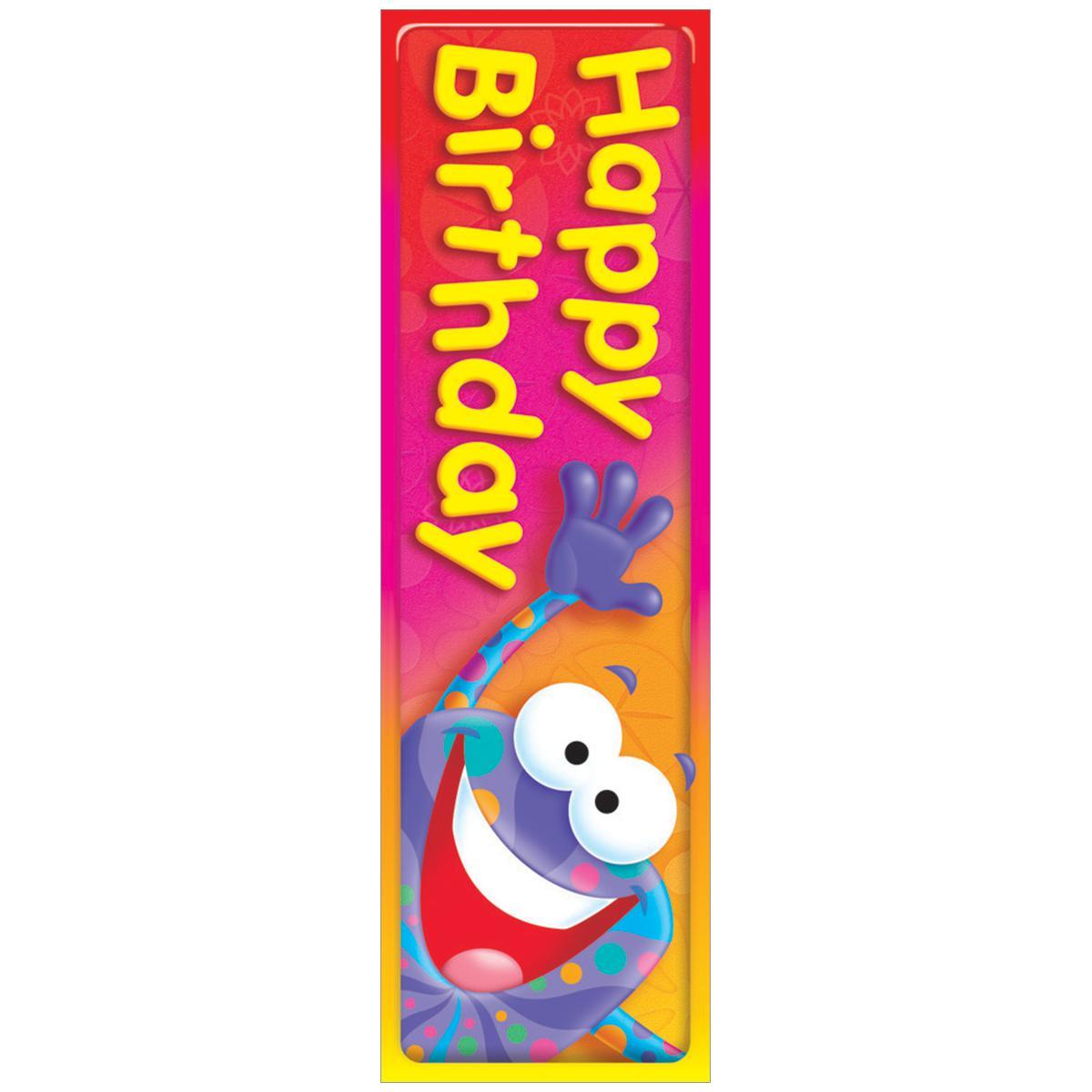 Happy Birthday! Bookmark
