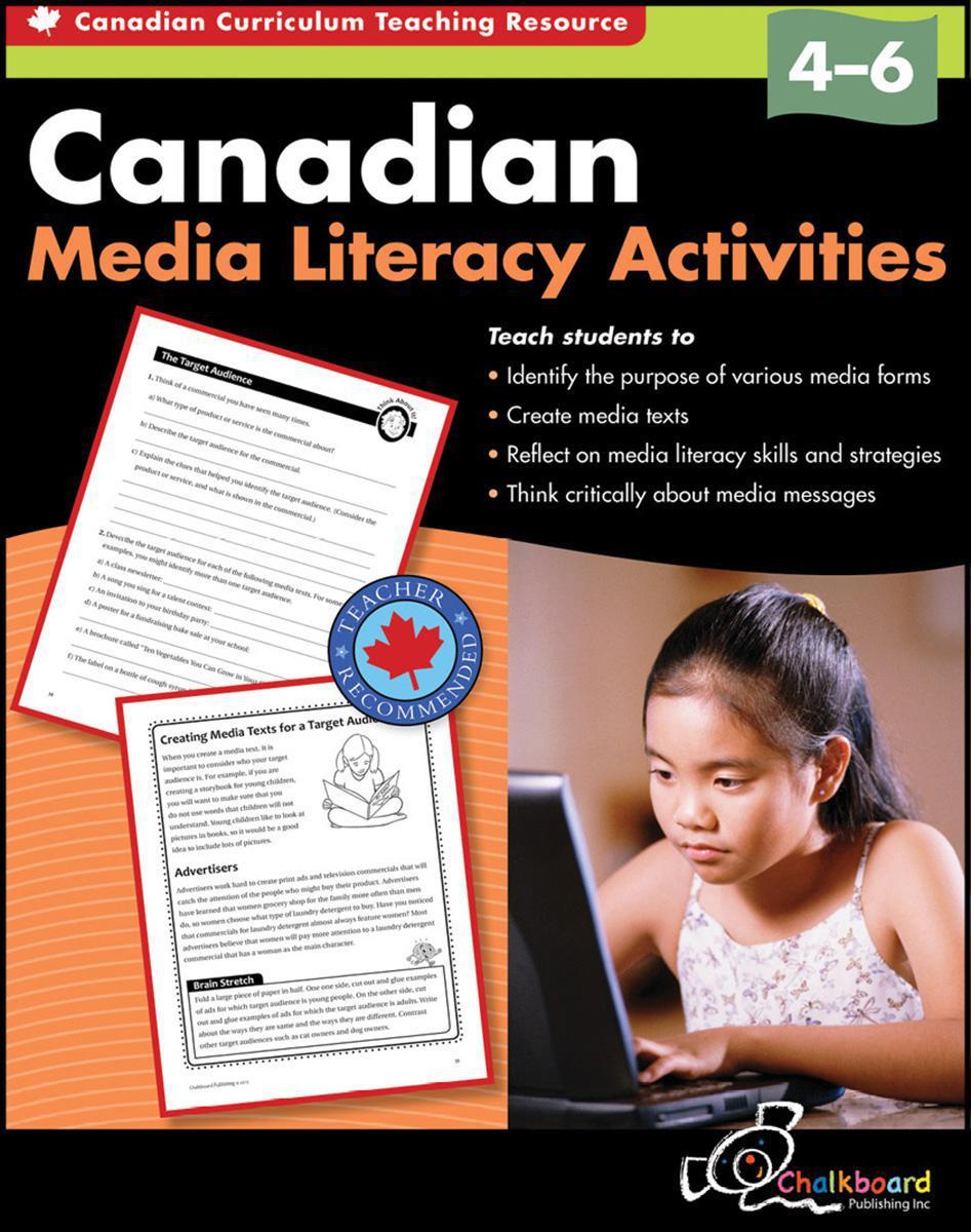 Media Literacy Activities Gr. 4-6