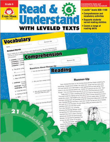 Read & Understand with Leveled Texts: Grade 6