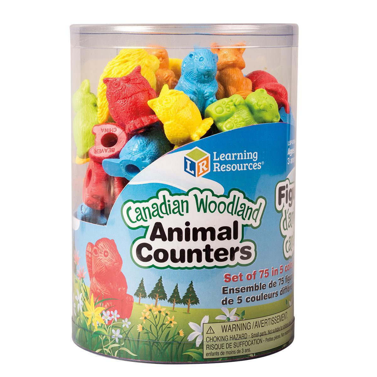 Compteurs en animaux des forêts canadiennes