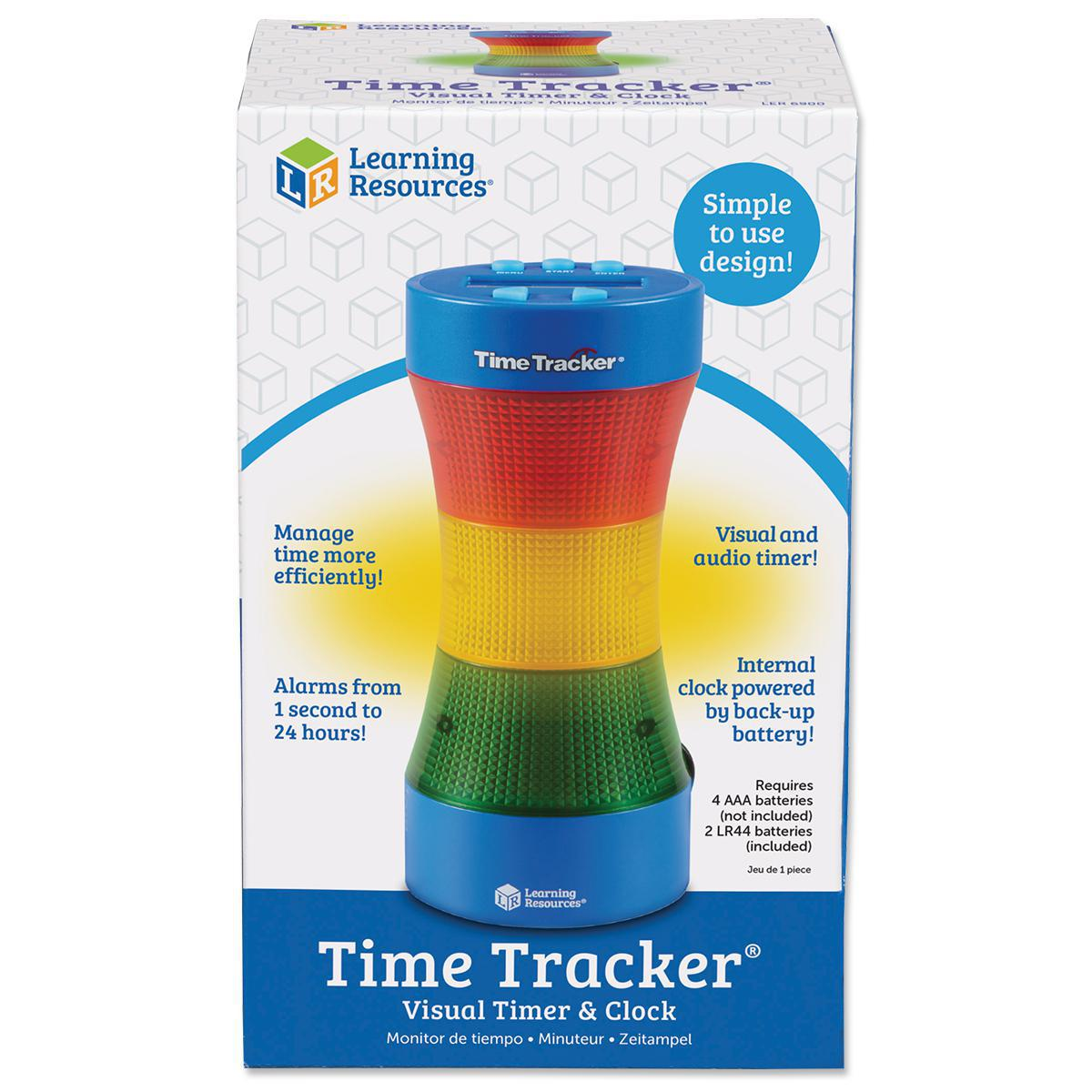 Time Tracker® Visual Timer & Clock Pack