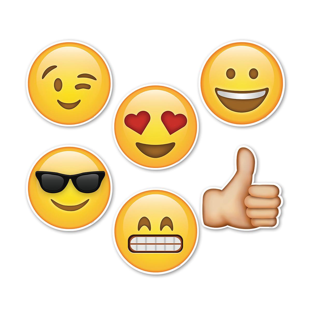 Fun Emojis Designer Cut-Outs