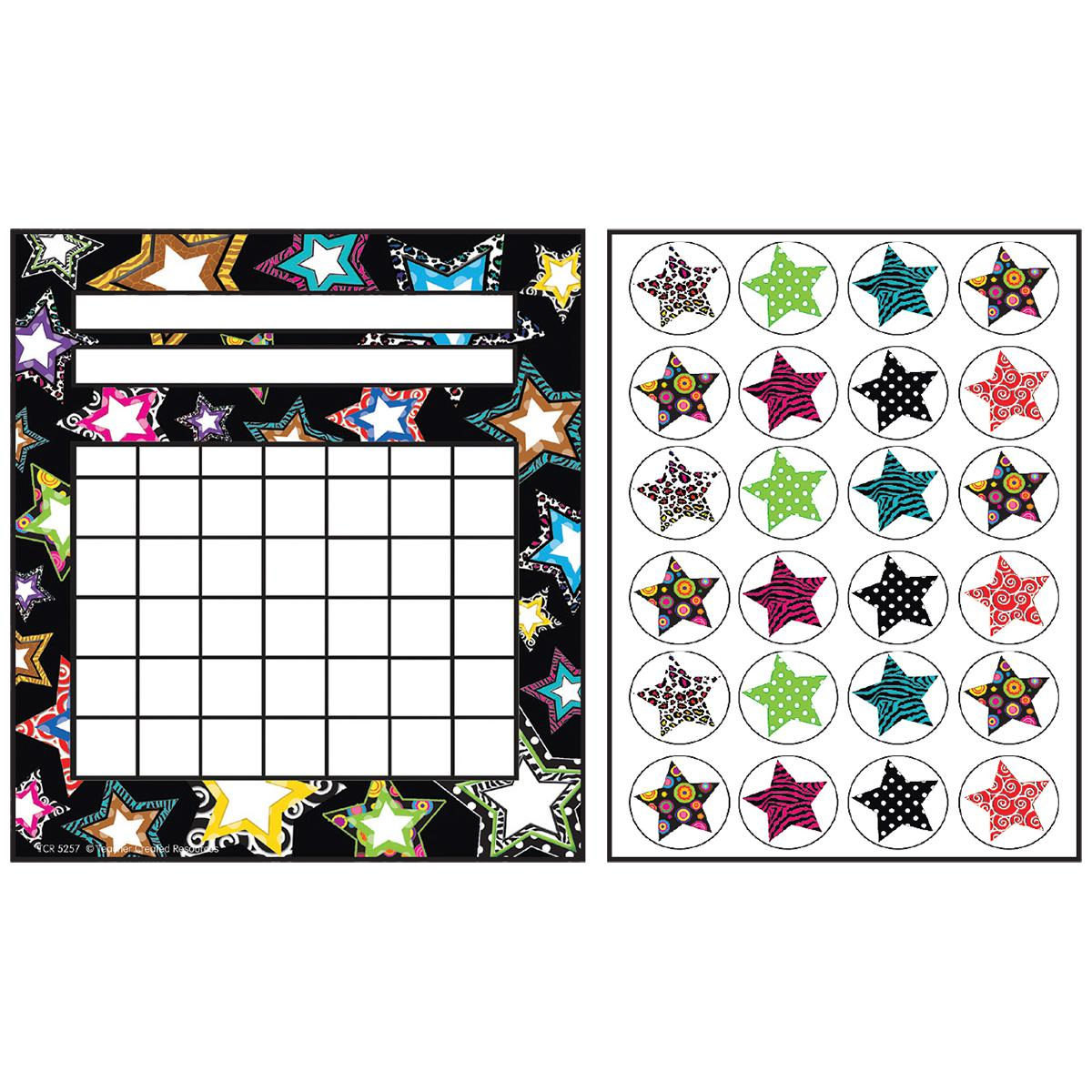 Fancy Stars Incentive Charts and Sticker Combo Pack