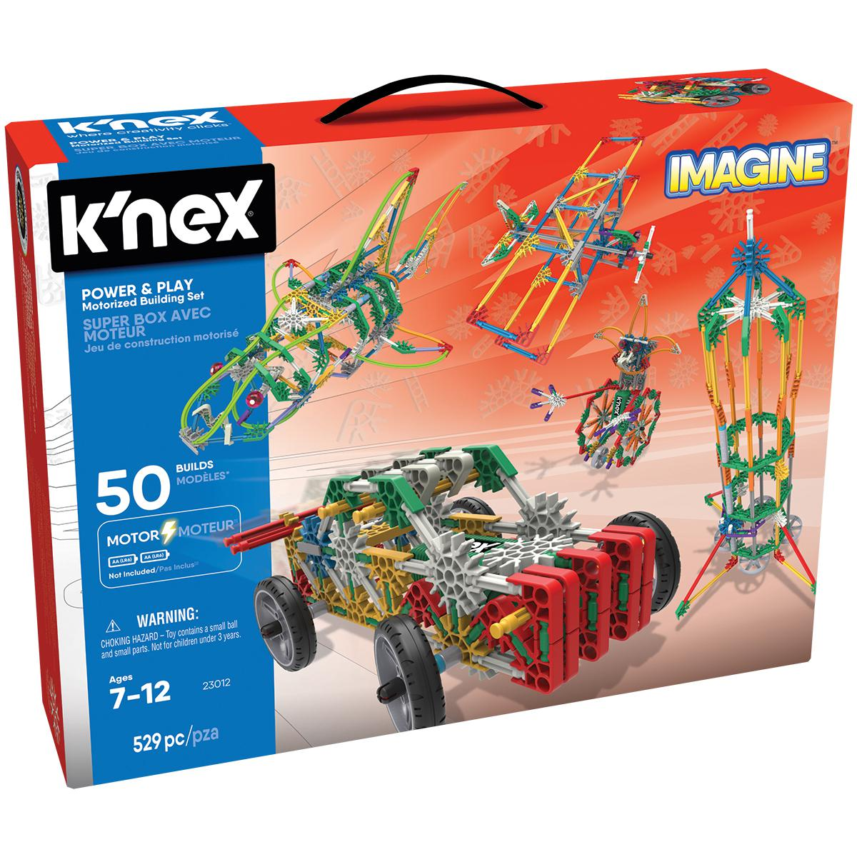 K'Nex® Power & Play 50 Model Motorized Building Set