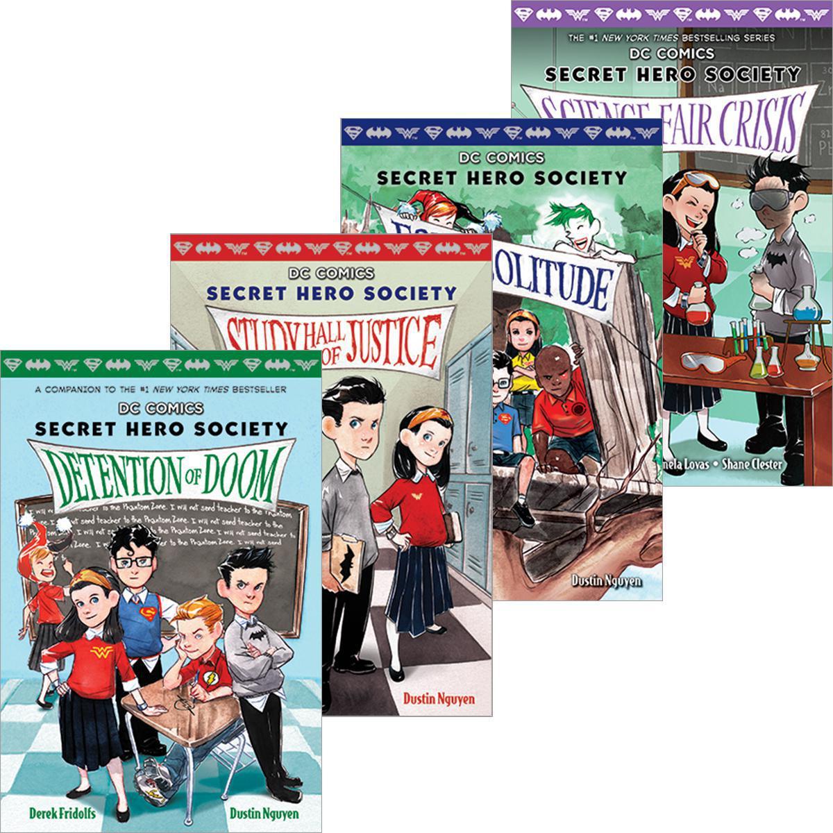 Secret Hero Society #1-#5 Pack