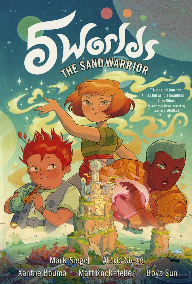 5 Worlds: The Sand Warrior