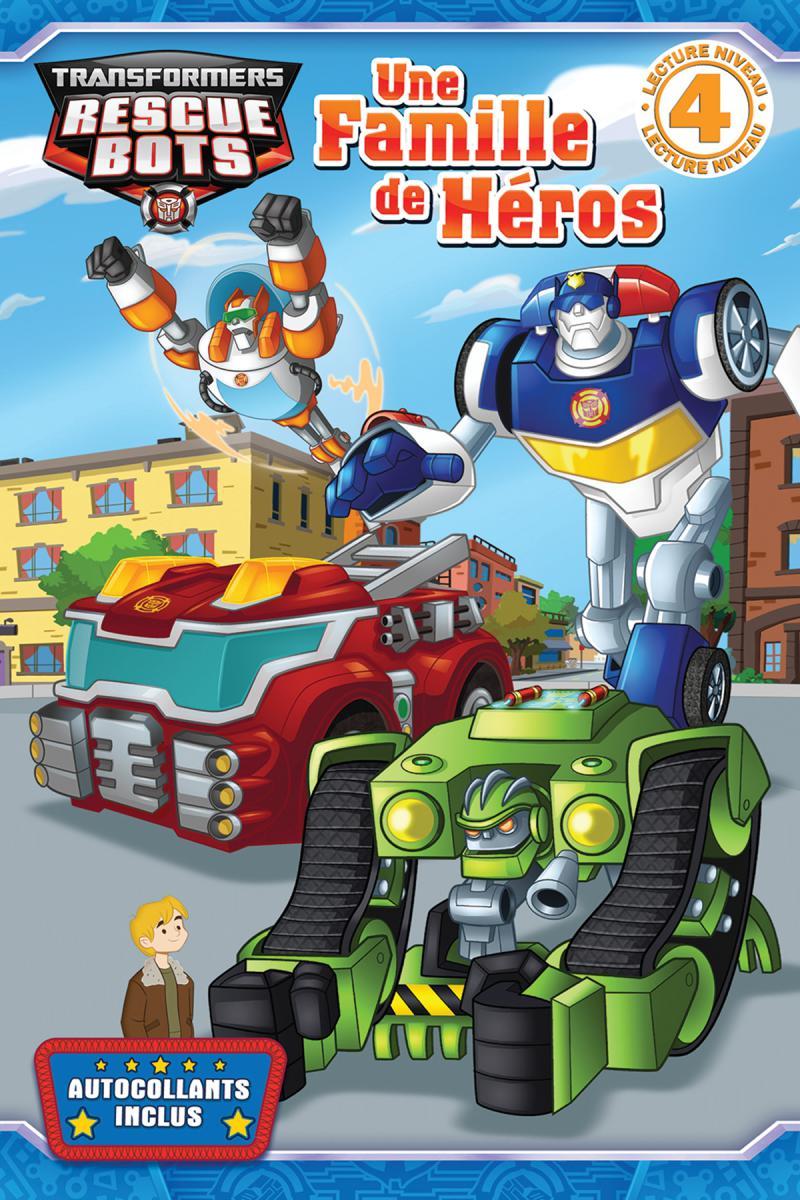 Transformers Rescue Bots : Une famille de héros